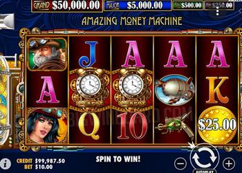 Amazing Money Machine Slot Game
