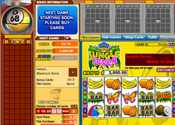Jungle Fever Bingo Game