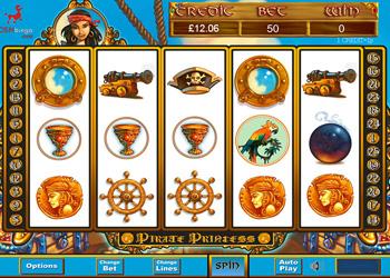 Pirate Princess Slot Game