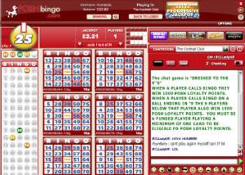 Posh Bingo - 75 Ball Bingo
